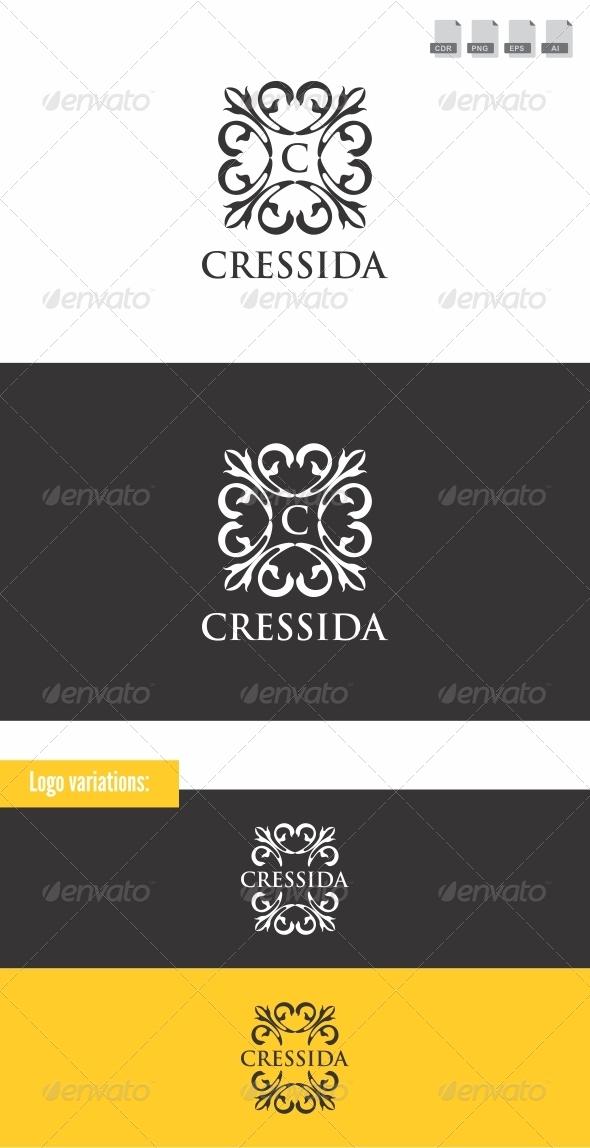 Cressida - Crests Logo Templates