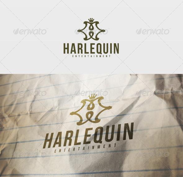 Harlequin Logo - Letters Logo Templates