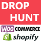 DropHunt for 11 Marketplaces(WooCommerce & Shopify) Google Chrome Extension