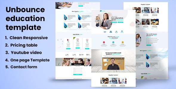 Education – Educational Landing page