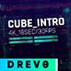 Cube Intro/ Glitch Opener/ Game Tournament/ Cyber Sport/ Hi-Tech HUD/ Streamer/ Youtube Techno Blog - VideoHive Item for Sale