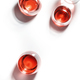 Degustation different varieties of red wine concept. White background, top view, hard light - PhotoDune Item for Sale