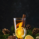 Christmas or New Year hot winter drink, spicy grog cocktail, punch or mulled wine - PhotoDune Item for Sale