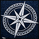 Compass Rose Logo Template