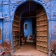 Blue houses in streets of of Jodhpur - PhotoDune Item for Sale