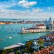 View of Venice lagoon and Santa Maria della Salute. Venice, Italy - PhotoDune Item for Sale