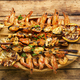 Grilled shrimp and mussels skewers - PhotoDune Item for Sale