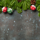 Christmas decoration background. Christmas and New Year decor - PhotoDune Item for Sale