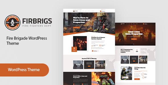 Firbrigs – Fire Department WordPress Theme
