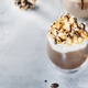 Cold winter chocolate dessert with whipped cream - PhotoDune Item for Sale