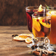 Selection of autumn or winter seasonal alcoholic hot cocktails - PhotoDune Item for Sale