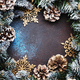 Christmas or New Year frame composition - PhotoDune Item for Sale
