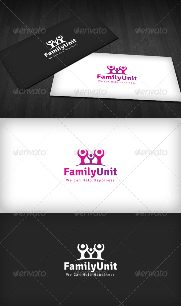 Family Unit Logo - Humans Logo Templates