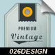 6 Retro Vintage Tags and Labels - GraphicRiver Item for Sale