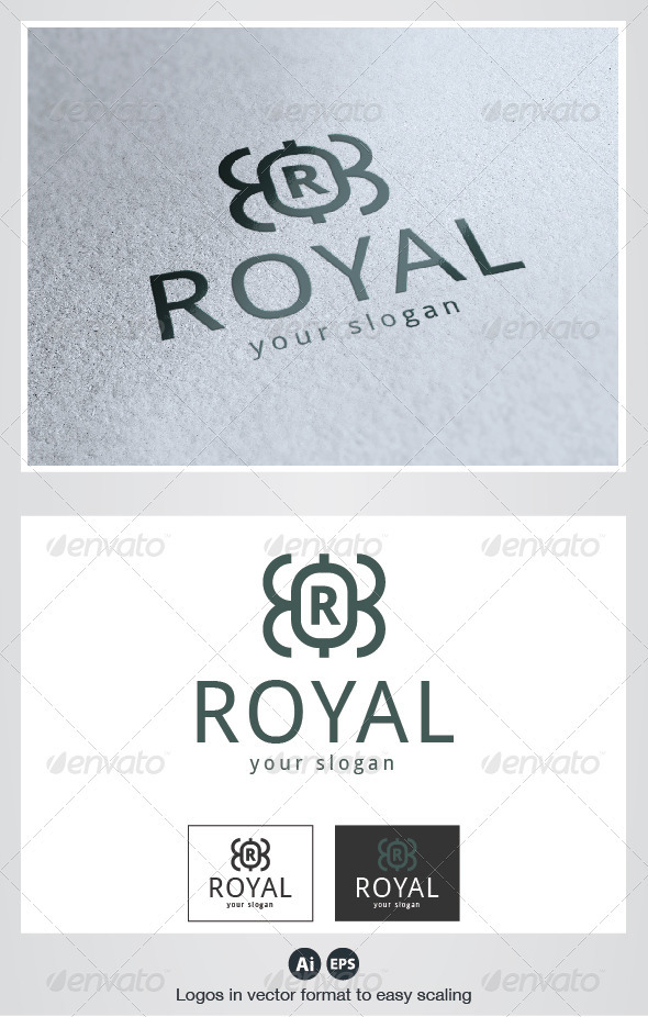Royal logo - Crests Logo Templates