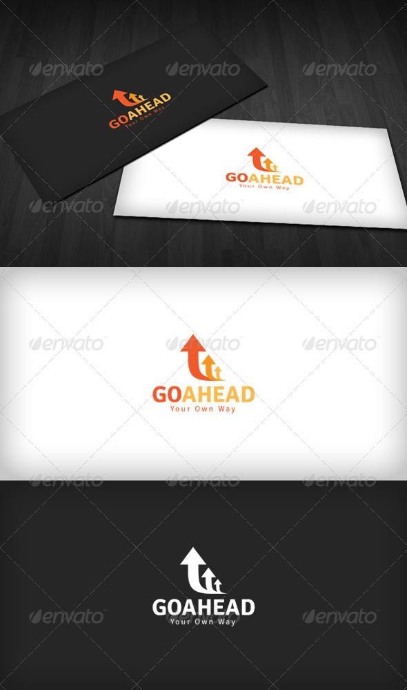 Go Ahead Logo - Vector Abstract