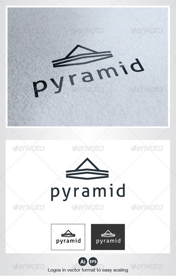 Pyramid Logo - Abstract Logo Templates
