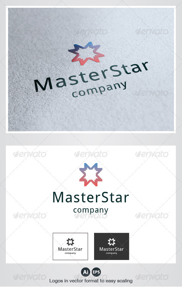 Master Star Logo - Symbols Logo Templates