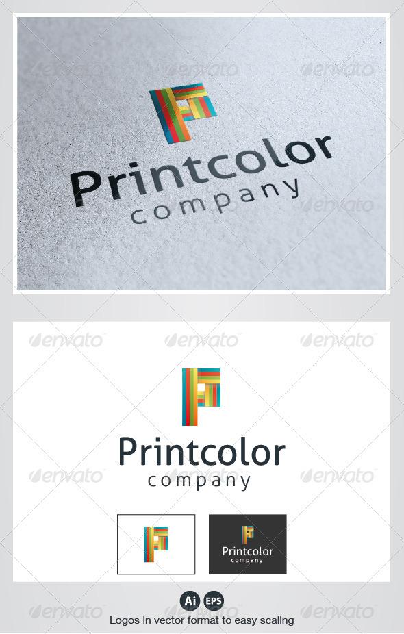 Print Color Logo - Letters Logo Templates