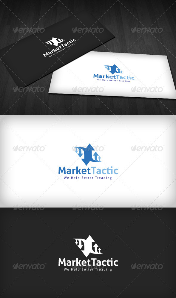 Market Tactic Logo - Vector Abstract