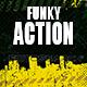 Upbeat Funky Rock Logo