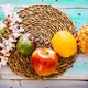 Above coloured food fruits view - PhotoDune Item for Sale