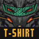 Mechwolf T-Shirt Design