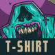 Zombie T-Shirt Design