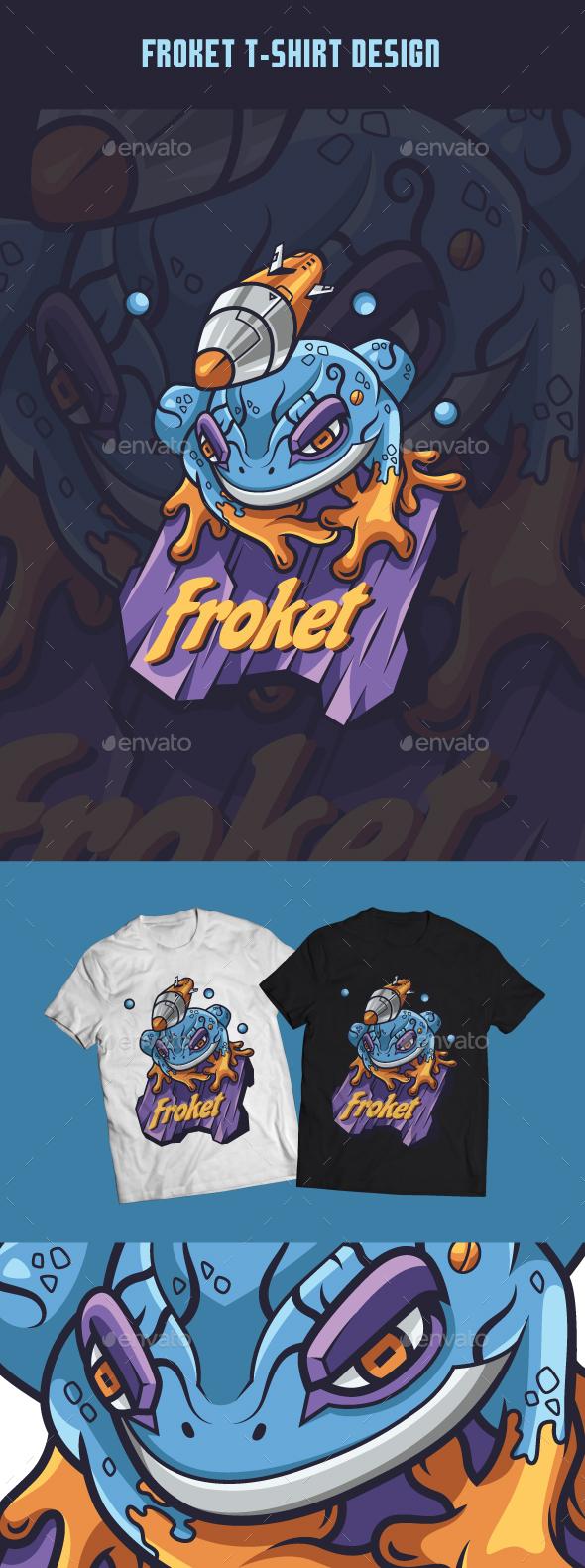Froket T-Shirt Design