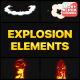 Explosion Elements | Motion Graphics - VideoHive Item for Sale