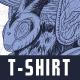 Bee T-Shirt Design