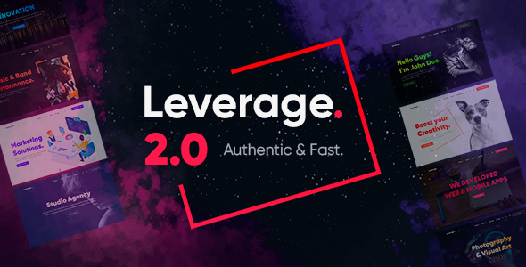 Leverage – Creative Agency & Portfolio HTML Template