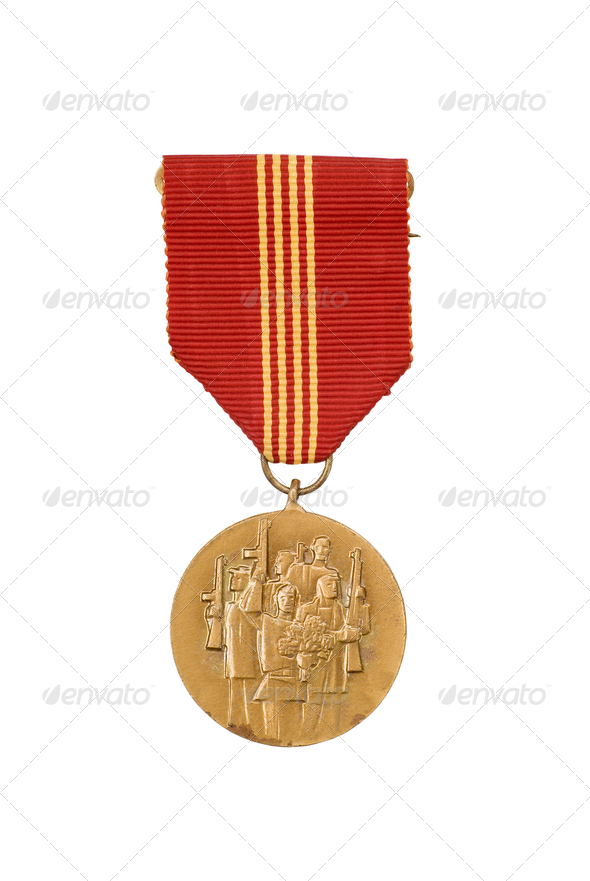 Commendation medal - Stock Photo - Images