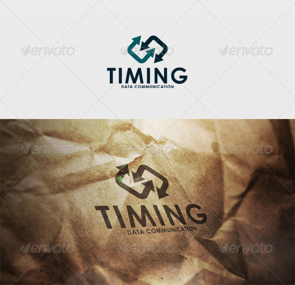 Timing Logo - Vector Abstract