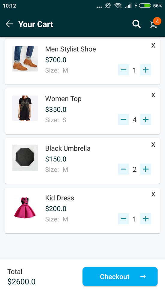 Uniqa - An android eCommerce app with admin panel by ...