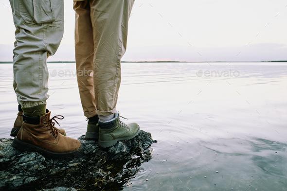 Romantic hike - Stock Photo - Images