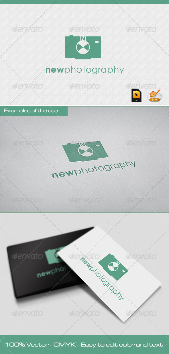 Newphotography Logo Template - Objects Logo Templates