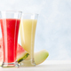 Watermelon and melon smoothie - PhotoDune Item for Sale