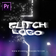 Glitch Bokeh Logo Intro - VideoHive Item for Sale