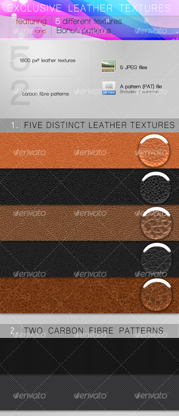 EXCLUSIVE LEATHER TEXTURES - Miscellaneous Textures