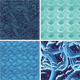Set Of Vector Seamless Pattern With Waves - GraphicRiver Item for Sale