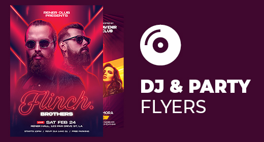 DJ, Club & Party Flyer