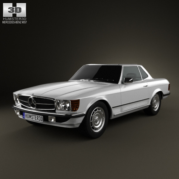 Mercedes-Benz SL-Class R107 coupe 1972