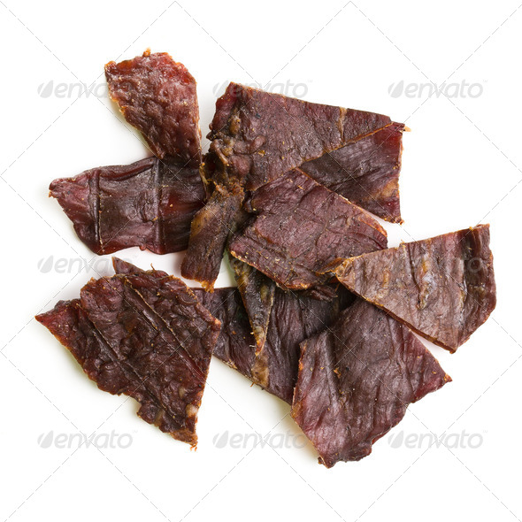 beef jerky - Stock Photo - Images