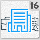 Office Environment Animated Icons Pack - Wordpress Lottie Json Animation SVG