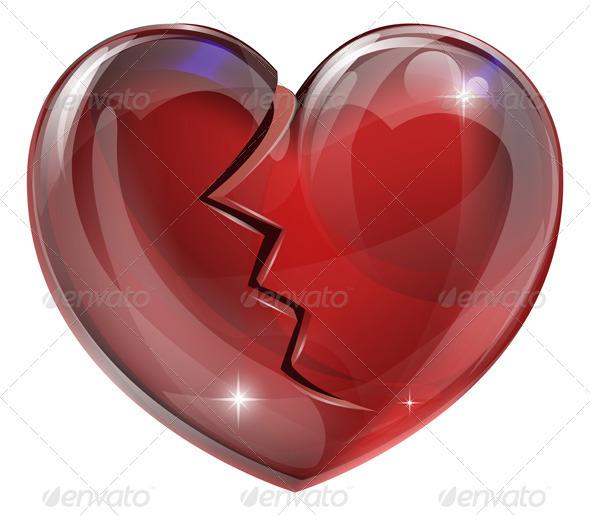 Broken heart  - Valentines Seasons/Holidays