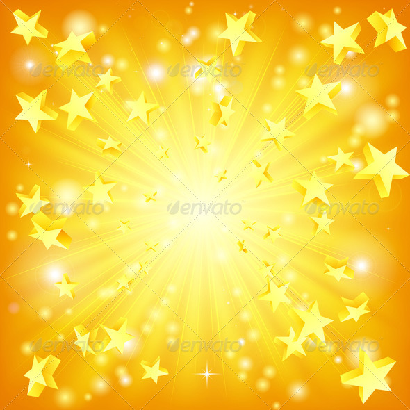 Exploding stars background - Backgrounds Decorative