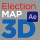 United States Election Map 3D - VideoHive Item for Sale