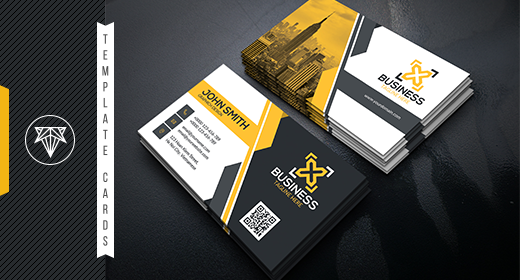 Business Card Template 2020