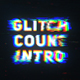 Glitch Countdown Intro Mogrt - VideoHive Item for Sale